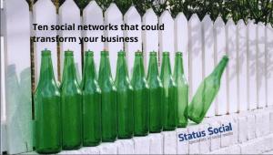 Ten Social Networks