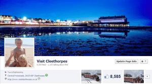 Visit Cleethorpes social media