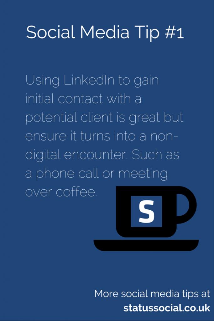 Social Media Tip 1