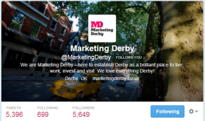 Twitter Marketing Derby