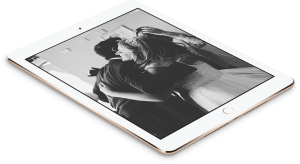 Social media weddings iPad