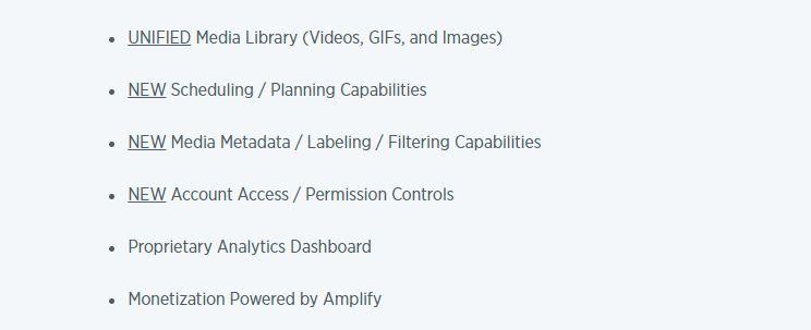 Twitter Media Studio Features