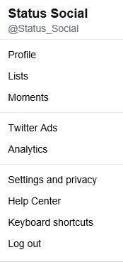 Twitter Media Studio - Status Social