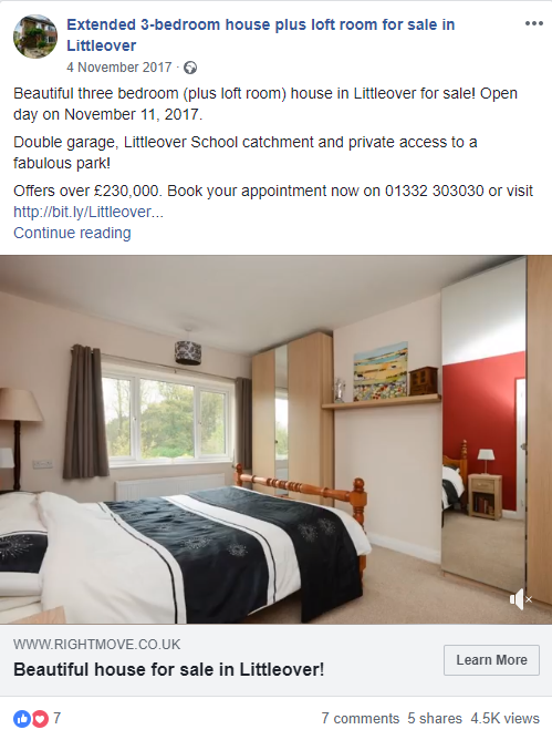 selling your house on social media