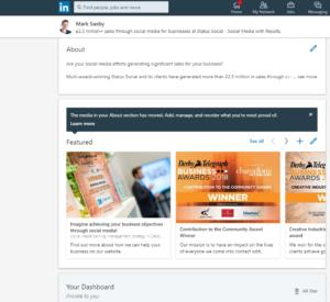 LinkedIn Profile - Media