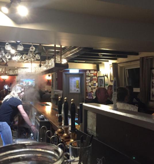 Social media in pubs
