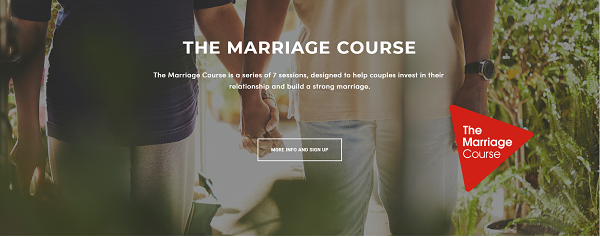 The Marriage Course social media marketing