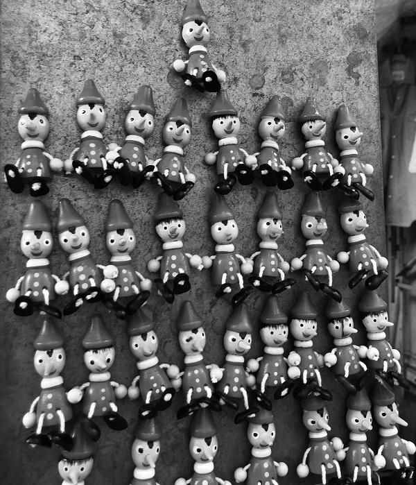 Mini Pinocchios (c) Mark Saxby 2020